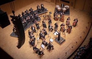 Just nu pågår en politisk strid om ifall Västerås Sinfonietta ska gå upp i tjänstgöringsgrad eller om målet på sikt är ersätta den med en Mälardalens symfoniorkester. Foto: Lennart Hyse