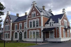 Stationshuset i Vansbro. Foto: Arkivbild