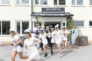 Studentfirande på Skvaderns gymnasium 2019.