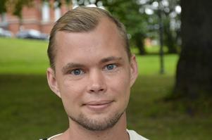Dennis Strandelin, 28 år, arbetssökande, Njurunda.