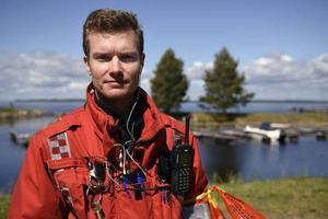 Johan Szymanski, chef för Brandkåren i norra Dalarna