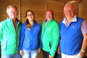 Nils Olof Tivemyr (C), Nea Mustonen (KD), Arne Augustsson (C) och Bo Rudolfsson (KD), presenterade sitt samarbete inför valet. I samarbetet ingår också Miljöpartiet, men de kunde inte närvara vid invigningen.