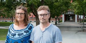 Anna-Karin Ragnarsson (KD) och Bernt Bergsten (C) tycker båda att det finns exempel som visar att F till 9-skolor ger en bra miljö för barnen. Scheeleskolan skulle kunna byggas till, konstaterar de, men vill att frågan utreds.