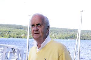Nils-Erik Johansson är uppvuxen i Insjön och fyllde 85 tidigare i år. Arkivfoto: Lars-Erik Måg
