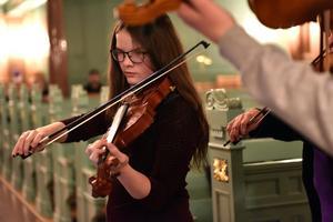 Älvdalen är en kommun som har många unga talanger på alla möjliga instrument.