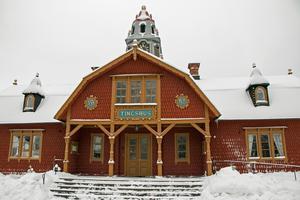 Tingshuset i Kopparberg.