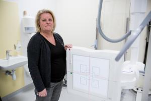 Fia Westman, verksamhetschef för röntgen på Södertälje sjukhus  ansvarar tillsammans med Södersjukhuset för mammografienheten.
