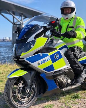 Under den senaste veckan har jag själv, med polismotorcykel, patrullerat av Njurunda i brottsförebyggande syfte, skriver Johan Dyrander, gruppchef för trafikgruppen, lokalpolisområde Medelpad.