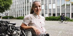 Marie Pellas ska samla vardagscyklister till en stor cykelpanel i höst. De som nappar ska främst svara på digitala enkäter men även vara med och testa de stora stråken.