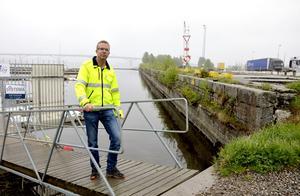 När bostadsbyggandet kommer igång i området kan inte Stefan Näslund svara på.