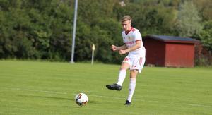 William Woxlin, mittback i Sveg, hade en lugn dag uppe i Brunflo.
