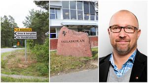 Jehanders planer för sin bergtäkt i Underås innebär troligen att ingen ny skola byggs bakom Ekeby gård, säger Johan Schönbeck. I stället byggs Vallaskolan till.