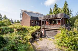 En trädgård med odlingsmöjligheter. Bild: Länsförsäkringar Fastighetsförmedling Sundsvall