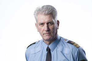Mikael Hedström, presstalesperson polisregion Mitt. Fotograf: Polisen/Sebastian Lindberg.