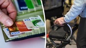 Brukaren kunde inte handla själv. Därför  fick denne hjälp från hemtjänsten.  Men det visade sig att pengar försvunnit från kontot.