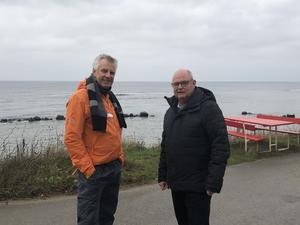 Pigge Werkelin och Mikael Bergh . Foto: Privat