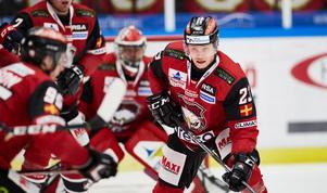 Malmö-Linköping i början av december. Christoffer Forsberg i fokus. Foto: TT/Andreas Hillergren