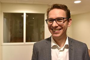 Johan Hansson berättar att det har gått bra för älvdalsföretaget det senaste året.