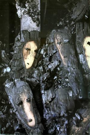 Utställningen visas i Rågången, Silvanum.