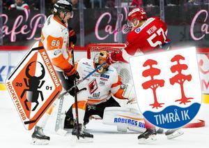 KHK mot Timrå i match tre – vilka vinner? Foto: Bildbyrån.