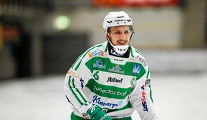 Simon Jansson skickade in 6–6-bollen mot Sandviken.