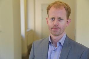 Mattias Grafström är vd för Telekområdgivarna. Bild: Telekområdgivarna