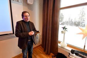 Jan Sundqvist, som är arbetsmarknadsanalytiker på Arbetsförmedlingen i Dalarna.