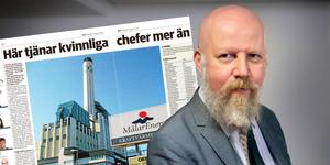 Daniel Nordström, chefredaktör och ansvarig utgivare. Bilden är ett montage.