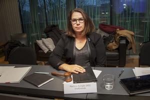– Om vi får en ny majoritet kan vi förvänta oss en ändringsbudget som ger oss i nämnden ändrade förutsättningar, säger kultur- och fritidsnämndens ordförande, Martina Kyngäs, KD.