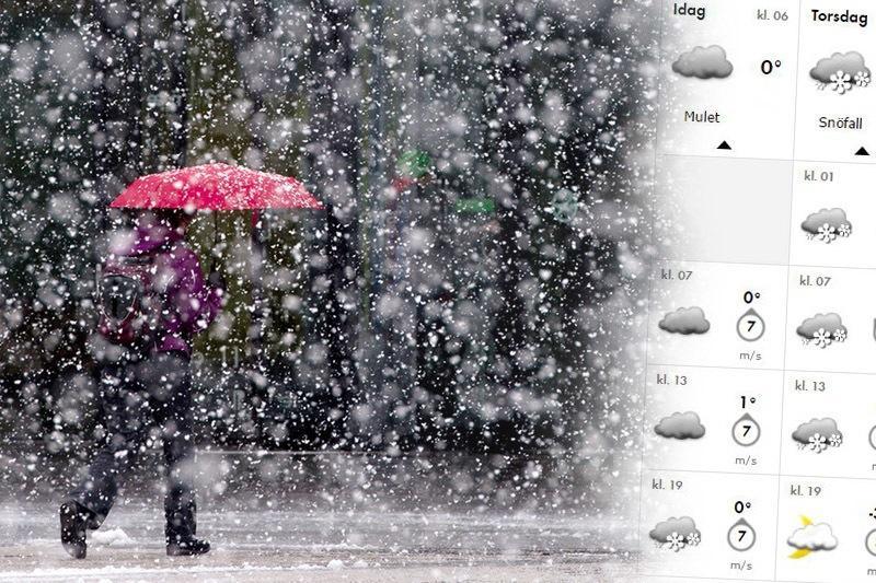 Smhi varnar for massor av regn