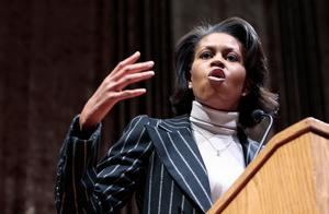 Michelle Obama.Bild: Young Kwak