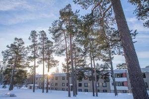 Förenade Care är entreprenör för det särskilda äldreboendet på Björkbacka i Östersund med 39 lägenheter.