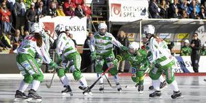 Skutskär var ett nummer för litet i finalen mot Västrerås – men det krävdes straffar för att skilja lagen åt.