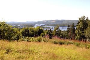 Med Bergvik Skog AB:s planer kommer den milsvida utsikten från Närsen bara vara ett minne blott. På varje topp kommer det att stå en grupp vindkraftverk.