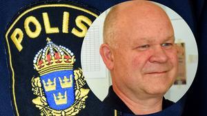 För att uppfylla medborgarlöftet patrullerar nu kommunpolisen Erik Gatu i Säters innerstad en gång i veckan.