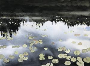 För några år sedan tog Peter Eugén upp landskapsmåleriet igen, som komplement till porträtten. Bild: Pressbild