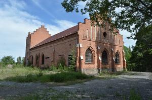 Det över 100 år gamla maskinhuset vid Tuna-Hästbergs gruva.