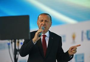 Erdogan, nu i handelsbråk med USA. Burhan Ozbilici/AP Photo/TT