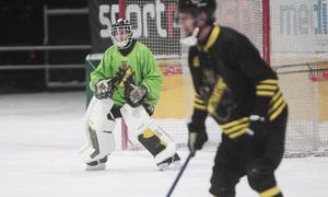 Andreas Bergwall släppte bara en boll bakom sig mot Nässjö och räddade segern för AIK.