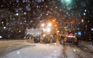 Det kan komma flera decimeter snö under torsdagsdygnet.