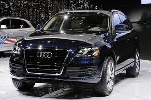 En Audi Q5.