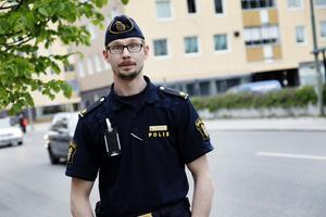 Christoffer Hallgren anser att cyklisterna behöver ta ett större ansvar för att undvika allvarliga skador i trafiken. Bild: Andreas Libell/Arkivbild
