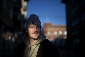 Patrik Karlkvist på hemmaplan i Örnsköldsvik.