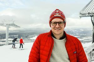 Marcus Ståhl är vd för destination Vemdalen och ser ett hållbart turisterbjudande som en viktig konkurrensfördel.