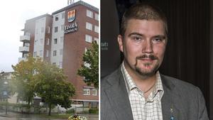 Sverigedemokraten Marcus Molinder lämnar politiken.