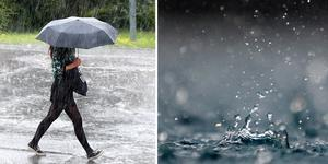 Det stora och kraftiga regnstråket har medfört höga flöden i vattendrag.