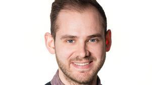 Jonas Ålebring, ordförande i Sveriges yngre läkares förening.