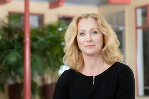 Jeanette Gustafsdotter, vd på Tidningsutgivarna, kommenterar före detta SD-politikerns utspel mot Daniel Nordström.