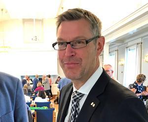 Erik Lövgren (S), regionråd Region Västernorrland.