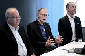 Johan Fritz, Göran Isberg, Stefan Österström.